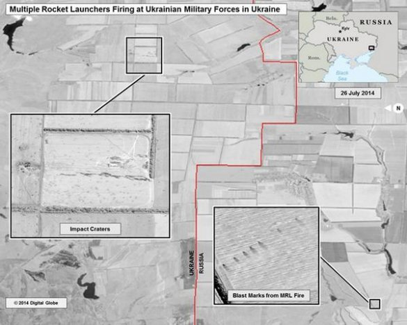 Информация для сумчан: спутниковые фотоснимки артиллерийского обстрела Украины с территории РФ (ФОТО), фото-2