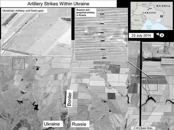 Информация для сумчан: спутниковые фотоснимки артиллерийского обстрела Украины с территории РФ (ФОТО), фото-3