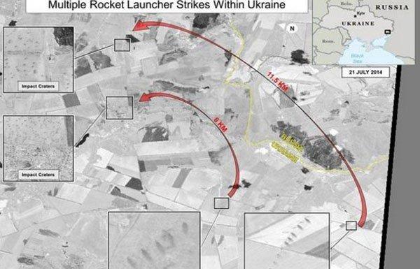 Информация для сумчан: спутниковые фотоснимки артиллерийского обстрела Украины с территории РФ (ФОТО), фото-1