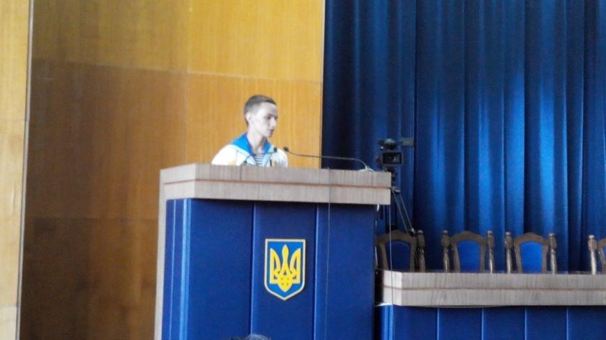 Сумской курсант, певший гимн Украины в оккупированном Крыму, поблагодарил чиновников за помощь (ФОТО), фото-3