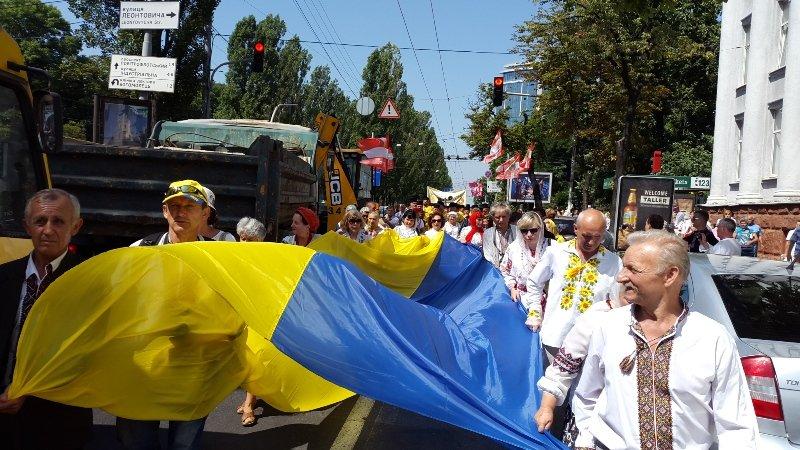 В Киеве 8 тысяч прихожан прошли крестным ходом по случаю празднования Крещения Руси-Украины (ФОТО, ВИДЕО), фото-2