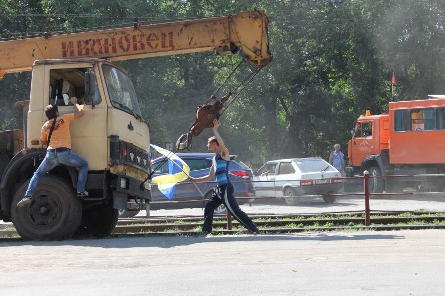 Протест криворожан: по городским улицам не должен ходить большегрузный технологический транспорт (ФОТОРЕПОРТАЖ), фото-6