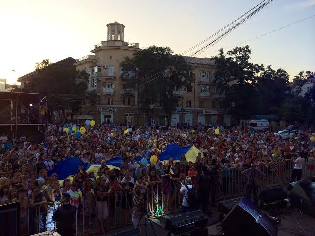 В Мариуполе стартовал концерт «В поддержку своих» (Дополнено, ФОТО), фото-13