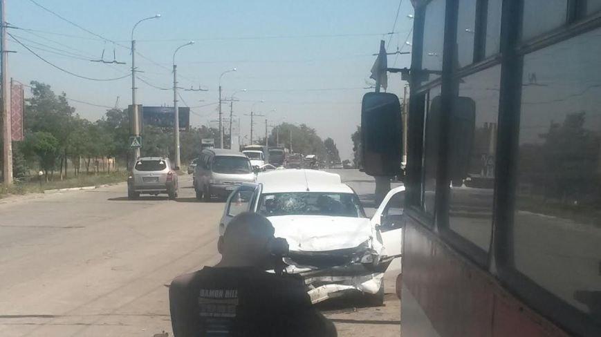 Тройное ДТП в Мариуполе: пострадали два человека (ФОТО), фото-6