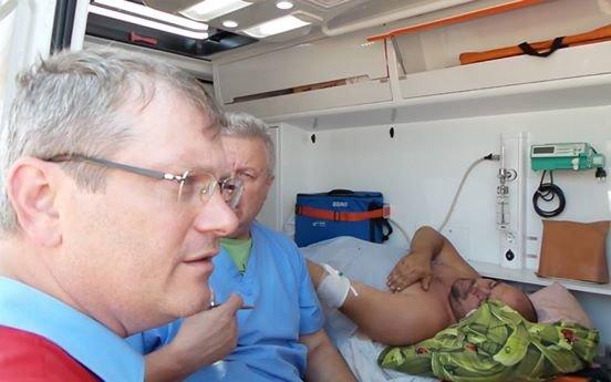 На заседании Криворожского горсовета Александр Голяков сообщил подробности поездки по освобождению Александра Пискуна, фото-2