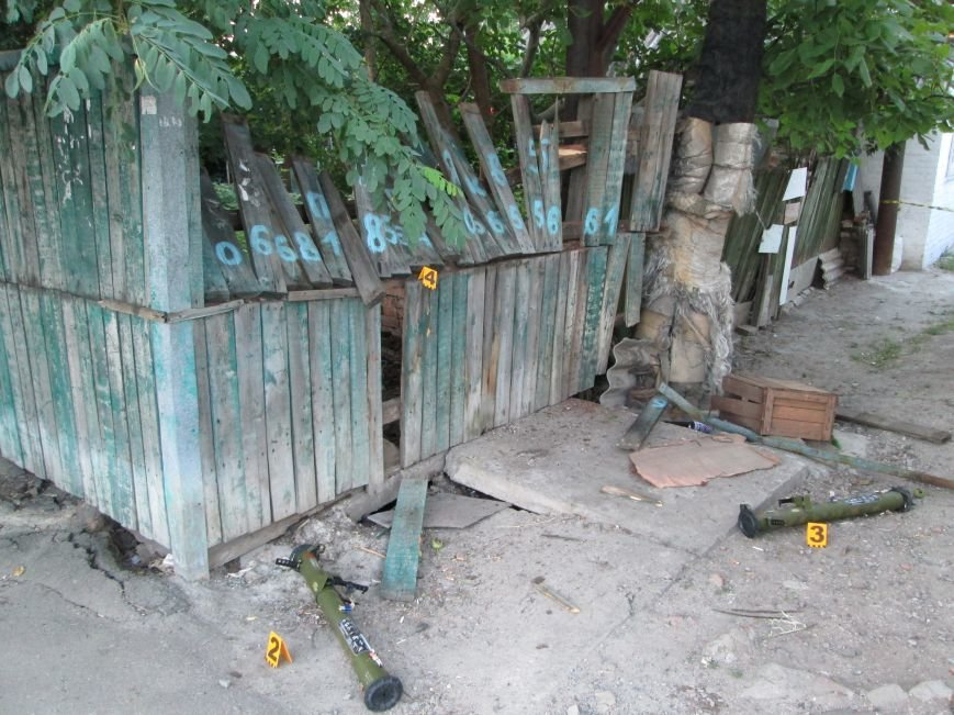 Бердянское УСБУ обстреляли из спецоружия для уничтожения зданий (ФОТО, ОБНОВЛЕНО), фото-1