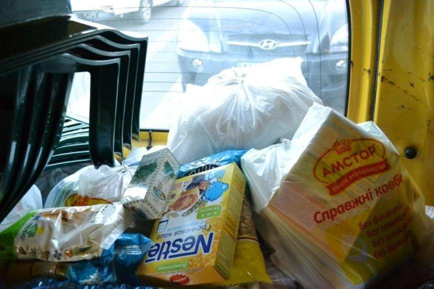 В Мариуполе покупатели супермаркета собрали детям-беженцам 3 тележки товаров и почти 900 грн (ФОТО), фото-12