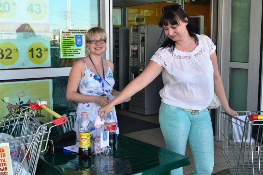 В Мариуполе покупатели супермаркета собрали детям-беженцам 3 тележки товаров и почти 900 грн (ФОТО), фото-5
