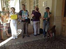 До депутатів Львівської міськради знову привели собак (ФОТО), фото-2
