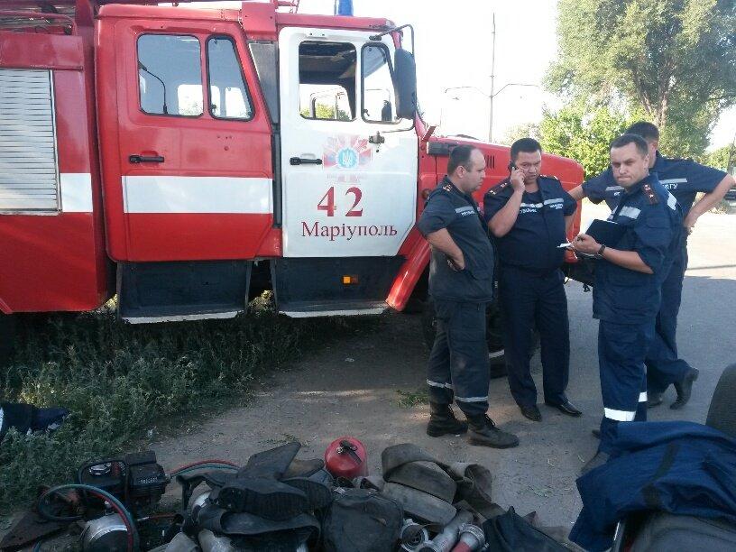 В Мариуполе разбился автомобиль МЧС (ФОТО), фото-6