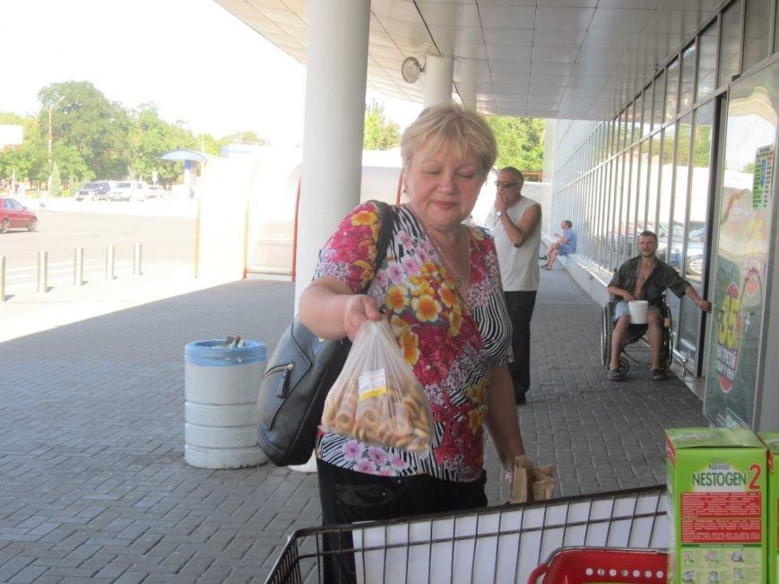 Мариупольцы передали детям-отказничкам из Донецка коляску, 3 тысячи гривен и 4 тележки продуктов (ФОТО), фото-12