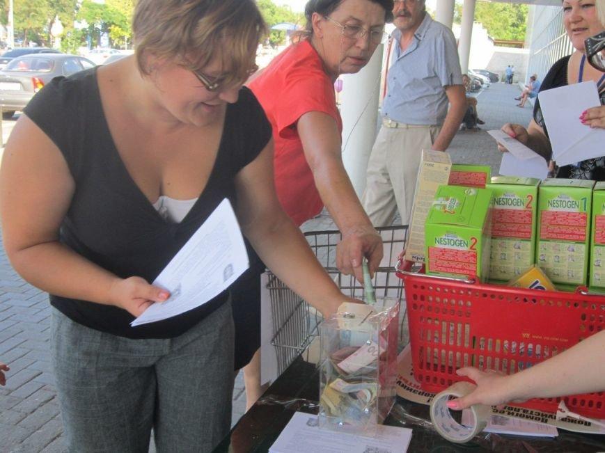 Мариупольцы передали детям-отказничкам из Донецка коляску, 3 тысячи гривен и 4 тележки продуктов (ФОТО), фото-13