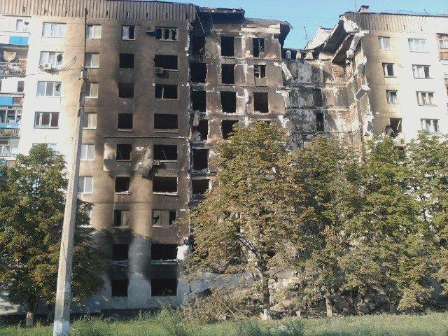 Сватово-Северодонецк-Лисичанск. В зону АТО продолжает прибывать гуманитарная помощь (ФОТО), фото-12