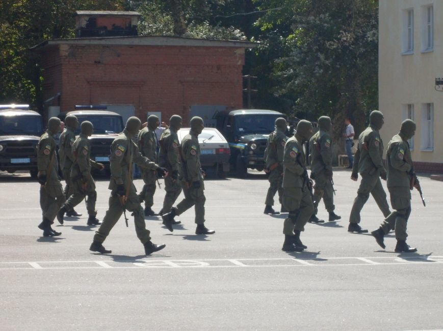 Бойцы батальона патрульной службы особого назначения «Кировоград» приняли присягу (фото), фото-9