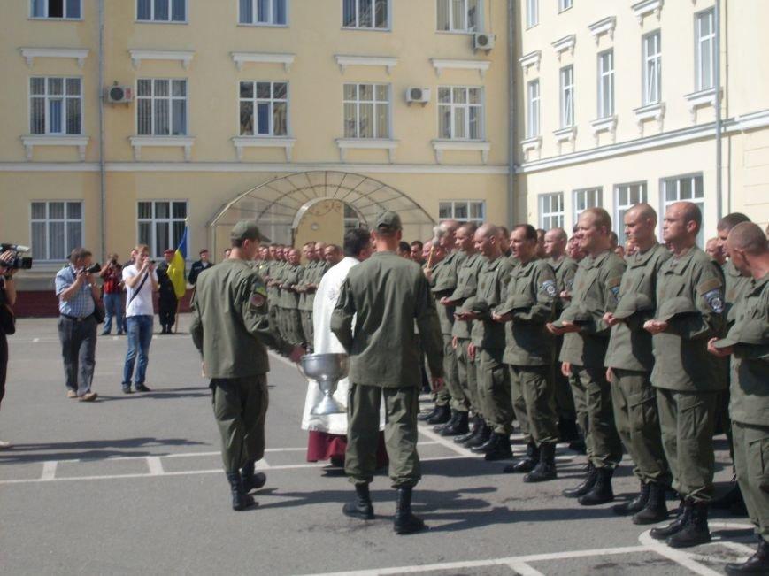 Бойцы батальона патрульной службы особого назначения «Кировоград» приняли присягу (фото), фото-8