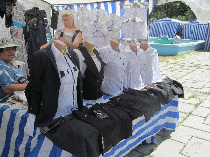 В Симферополе открылся большой школьный базар (ФОТО), фото-12