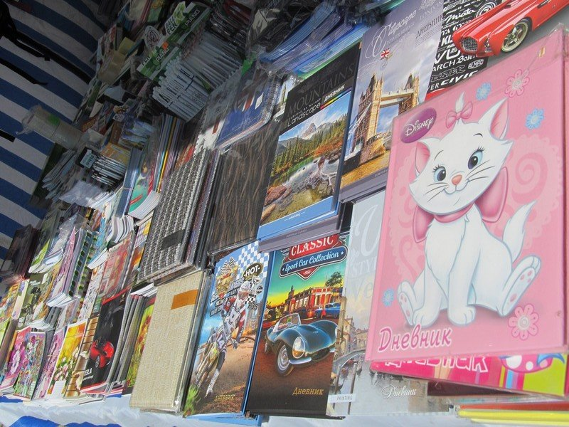 В Симферополе открылся большой школьный базар (ФОТО), фото-4