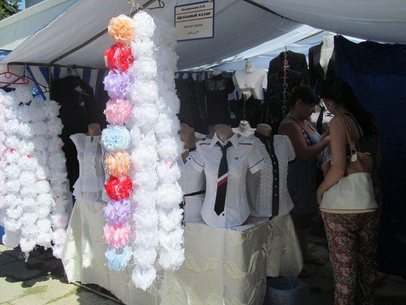 В Симферополе открылся большой школьный базар (ФОТО), фото-7