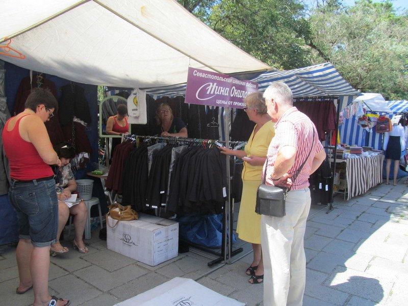 В Симферополе открылся большой школьный базар (ФОТО), фото-5