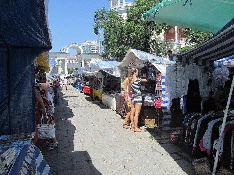 В Симферополе открылся большой школьный базар (ФОТО), фото-2