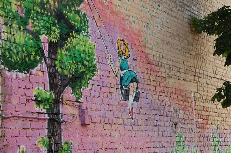 Еще один дом в Белгороде украсили граффити, фото-2