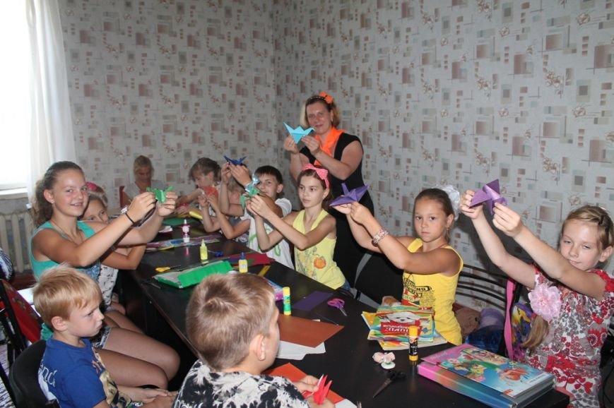 Настроение просто класс! В Часов Яре открыли летний лагерь при Дворце культуры (ФОТО+ВИДЕО), фото-8