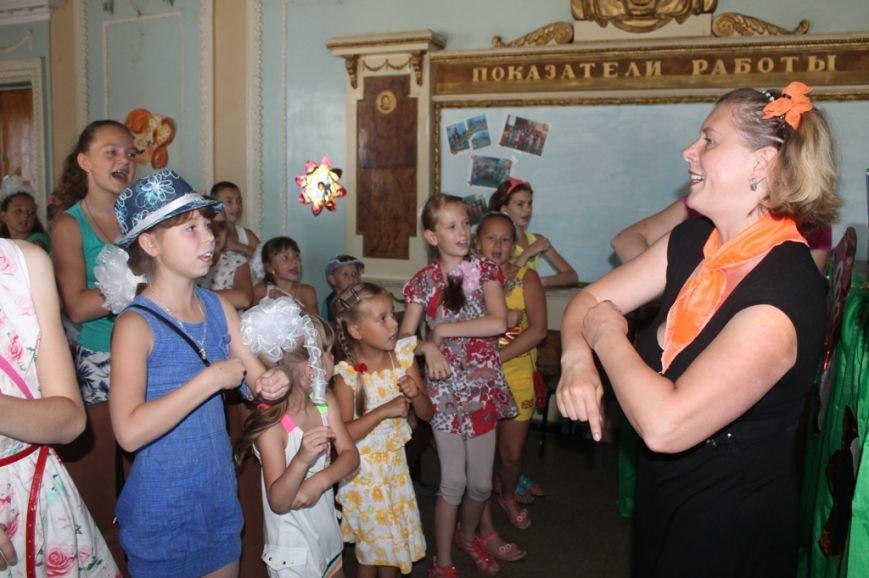 Настроение просто класс! В Часов Яре открыли летний лагерь при Дворце культуры (ФОТО+ВИДЕО), фото-1