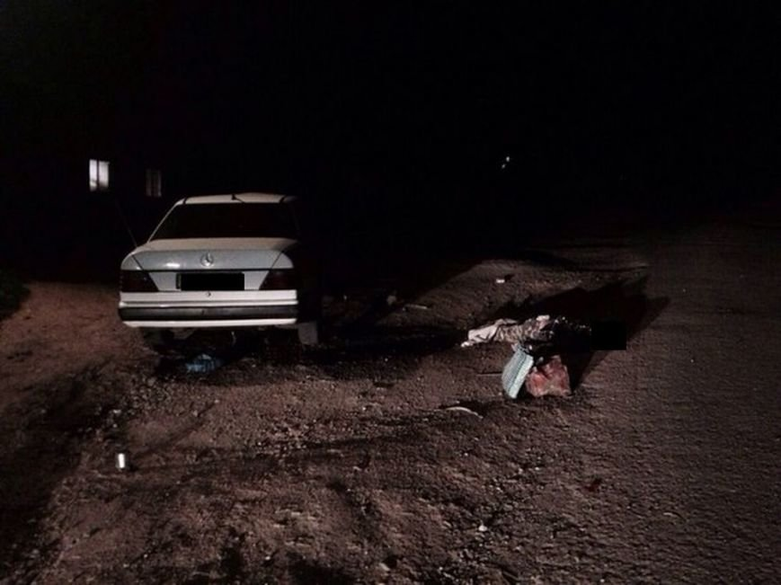 В Дергачах парень на «Мерседесе» насмерть сбил велосипедиста, фото-1