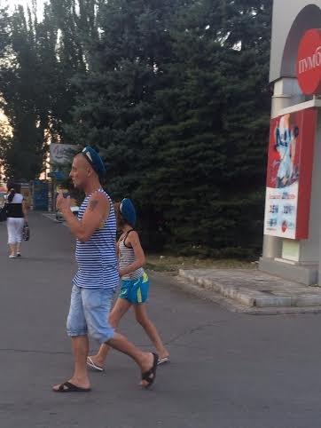 Сегодня украинских  воинов в голубых беретах поздравил Президент Украины( Фотофакт), фото-2