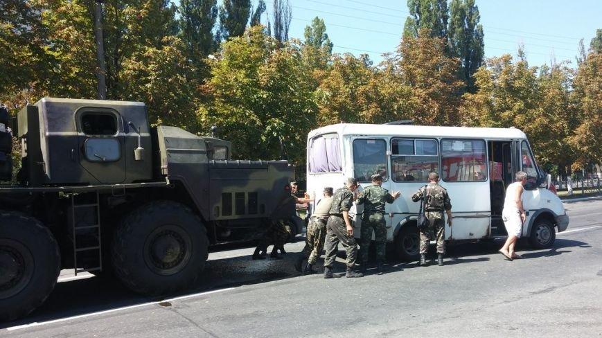 В Кременчуге «Смерч» столкнулся с маршрутным такси (ФОТО) (фото) - фото 1