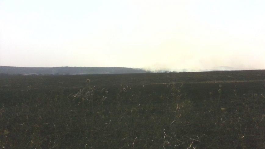 Под Мариуполем горела заповедная территория (ФОТО), фото-1