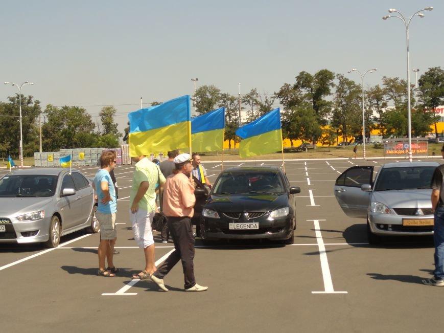 В мариупольском АвтоМайдане участвовали  машины со специальными номерами (ФОТО), фото-5