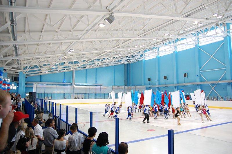 В Белгороде открыли новый ледовый дворец, фото-4