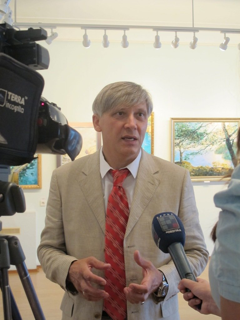 У Кіровограді відбулося відкриття виставки «Віктор ОРЛІ – амбасадор Провансу» (фото), фото-1