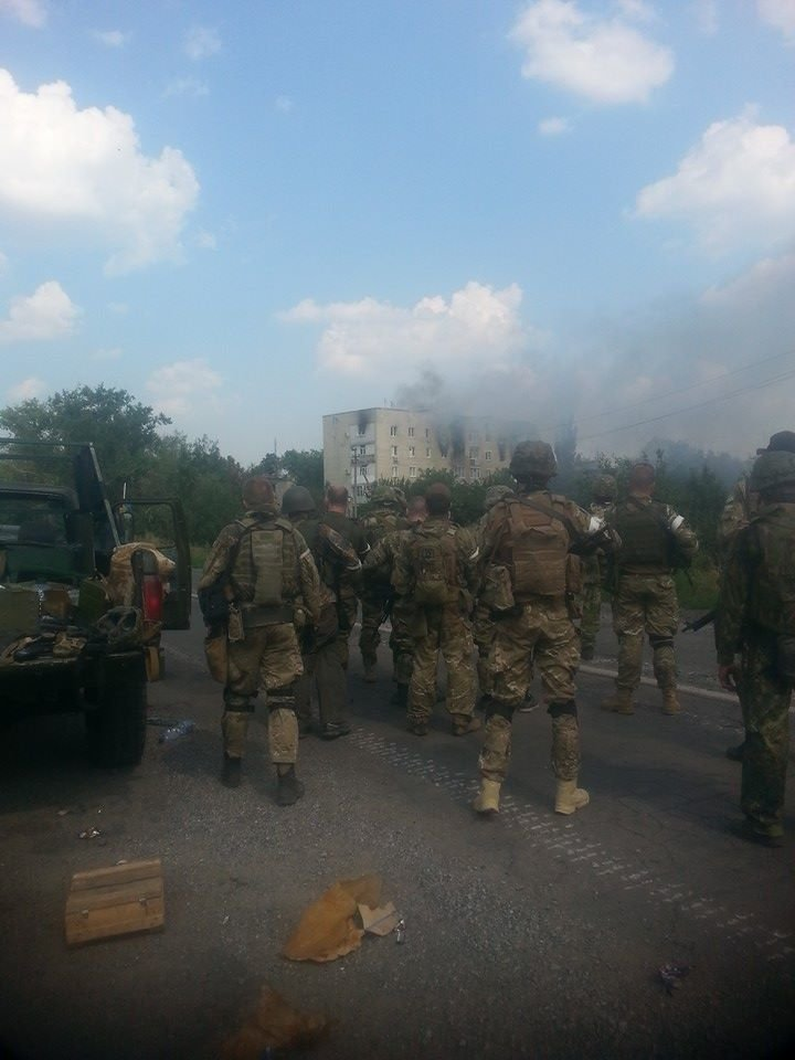 Батальоны Нацгвардии начали освобождать Донецк (ФОТОФАКТ), фото-1