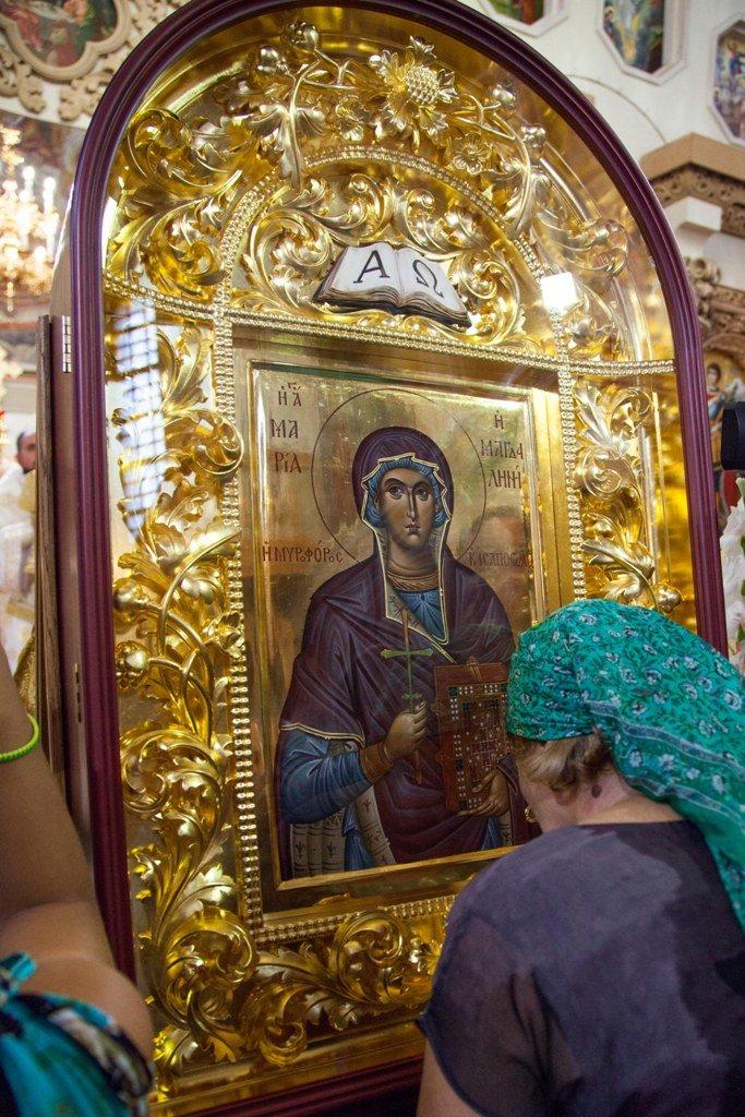 В Выдубицком монастыре почтили память равноапостольной Марии Магдалины (ФОТО), фото-2