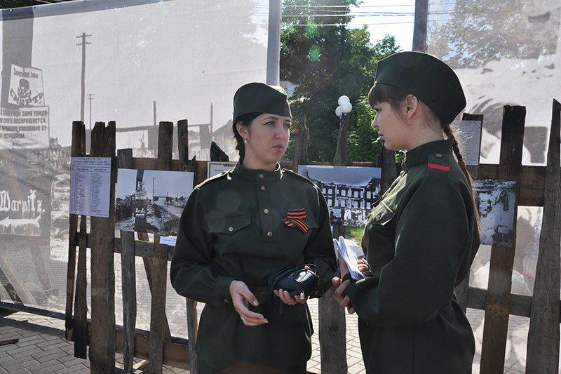 В парке Победы открыли выставку под открытым небом «Белгород фронтовой», фото-5