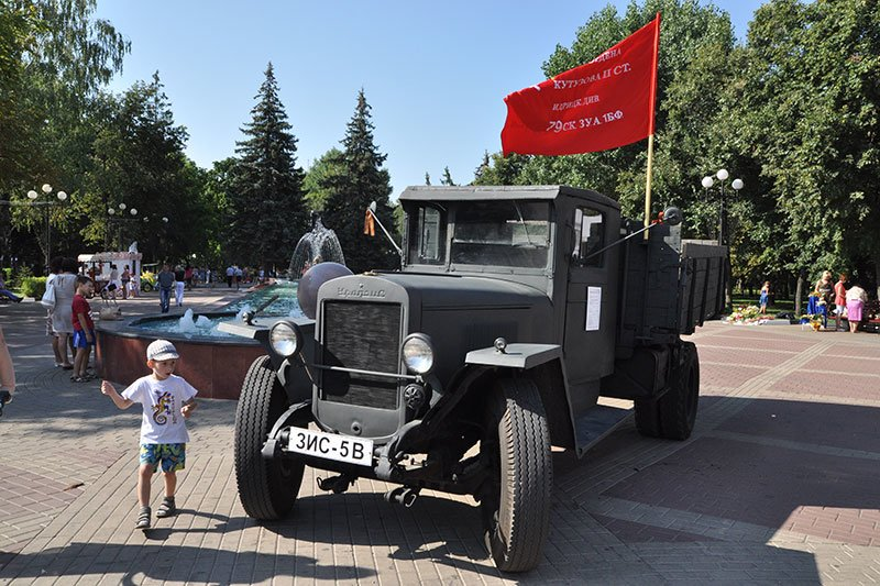 В парке Победы открыли выставку под открытым небом «Белгород фронтовой», фото-4