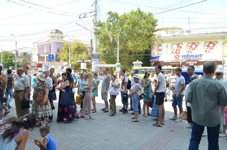 В Симферополе ажиотаж на российские сим-карты МТС (ФОТО, ВИДЕО), фото-1