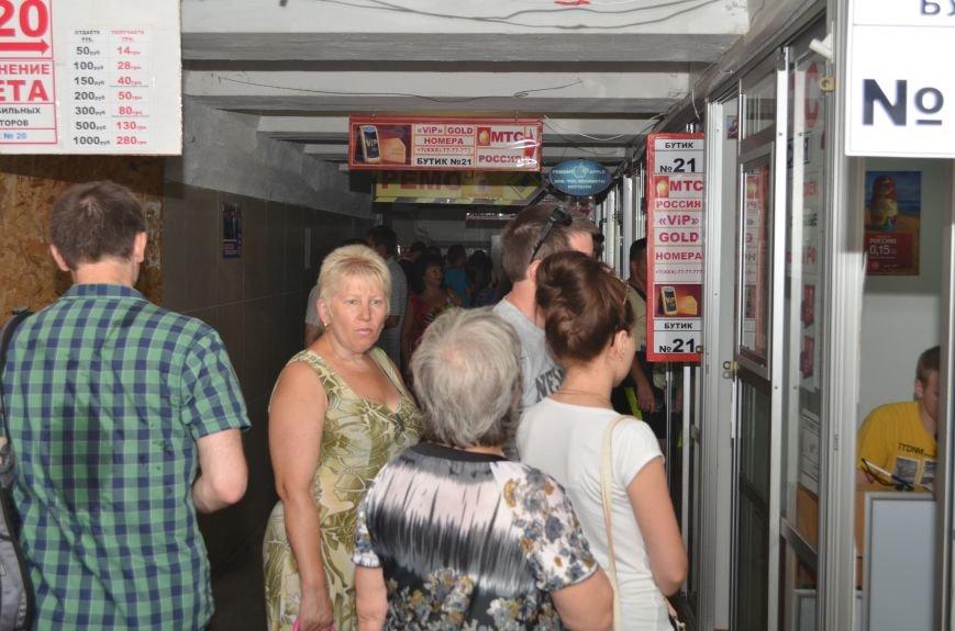 В Симферополе ажиотаж на российские сим-карты МТС (ФОТО, ВИДЕО), фото-6