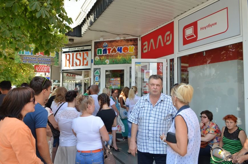 В Симферополе ажиотаж на российские сим-карты МТС (ФОТО, ВИДЕО), фото-2
