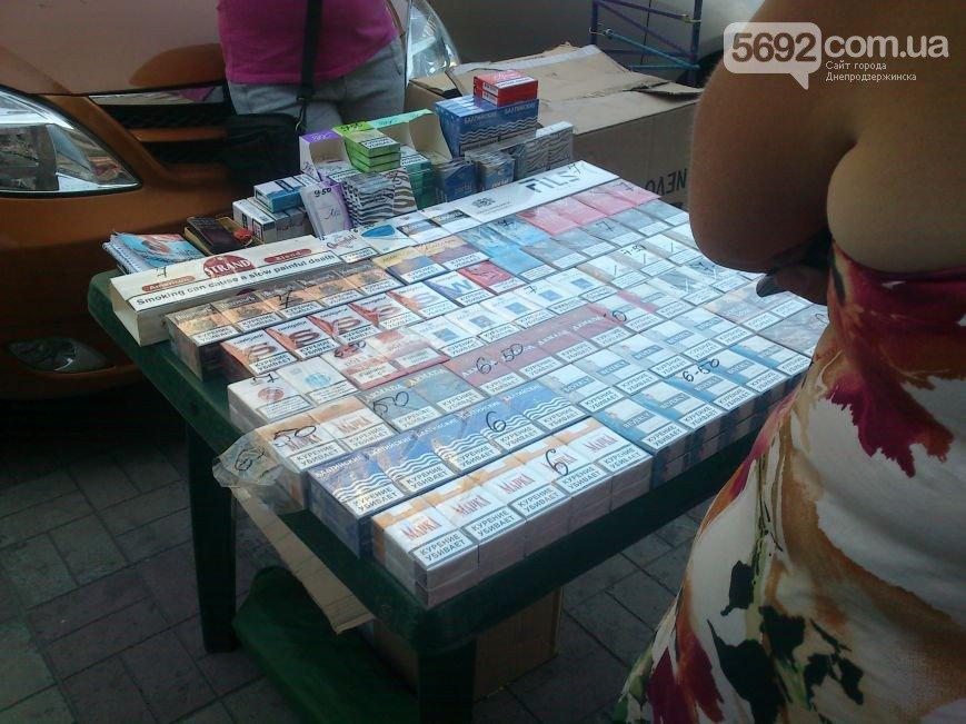 В Днепродзержинске продолжают торговать контрабандными Российскими сигаретами, фото-1
