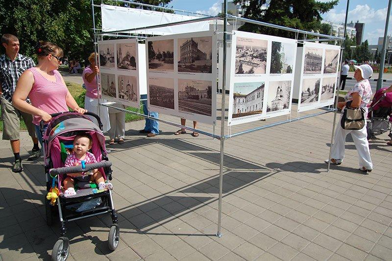 50 фотографий Белгорода из разных временных эпох разместились в парке Победы, фото-2