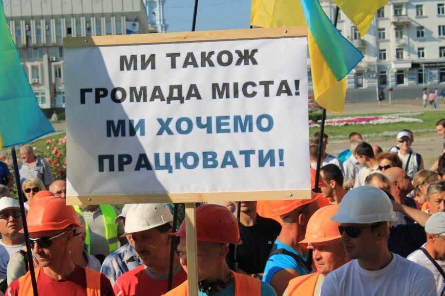 В Сумах несколько сотен строителей «Федорченко» вышли на пл. Независимости (ФОТО), фото-2