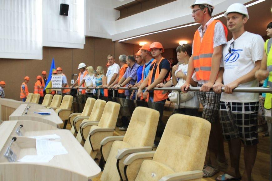 В Сумах несколько сотен строителей «Федорченко» вышли на пл. Независимости (ФОТО), фото-6