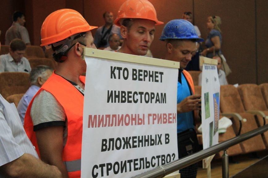 В Сумах несколько сотен строителей «Федорченко» вышли на пл. Независимости (ФОТО), фото-7