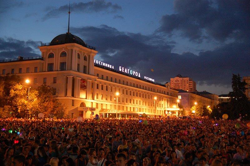 В праздновании Дня города в Белгороде приняли участие 40 тысяч горожан, фото-4