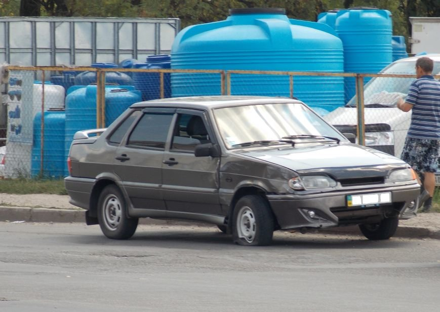 В Кировограде столкнулись две легковушки (фото), фото-2