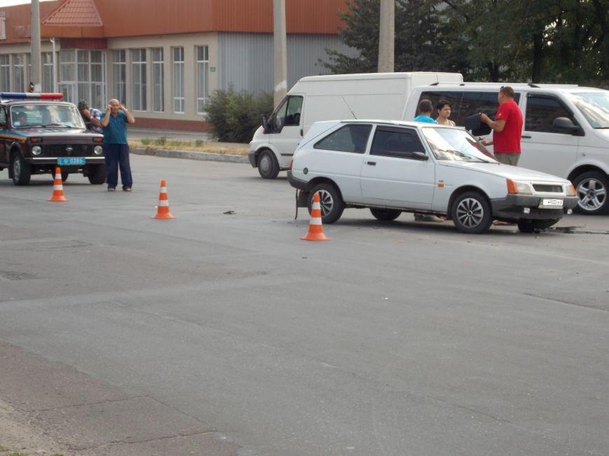 В Кировограде столкнулись две легковушки (фото), фото-1
