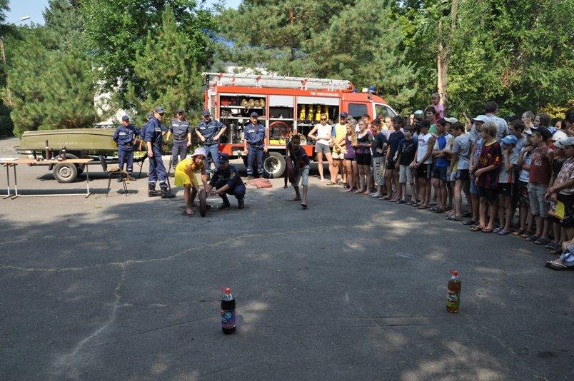 У таборі «Сонячний» рятувальники подбали про безпеку школярів під час літнього відпочинку (фото), фото-4